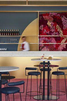 Mim Design, Kiosk, Beautiful Interiors, Restaurant Bar, Commercial Interiors, Pavilion, Have Fun, Bar Stools, Garden Design
