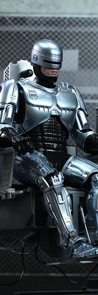 RoboCop with Mechanical Chair MMS Diecast Sixth Scale Figure - Hot Toys $424.99