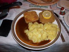 Nezumi startete mit paniertem Tofu und Kartoffelpüree