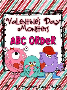 All Students Can Shine: Valentine's   ABC order
