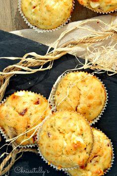 Chrissitally´s Cupcakefactory: Herzhafte Käse-Schinken Muffins