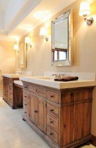 St James Extra Wide Single Vanity Sink Restoration