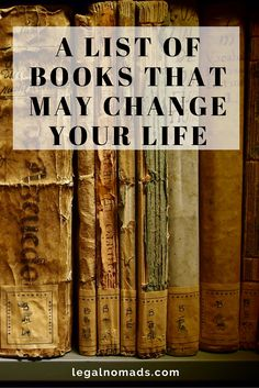 Meaningful, life-changing books everyone should read.