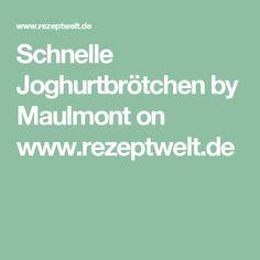 Schnelle Joghurtbrötchen  by Maulmont on www.rezeptwelt.de