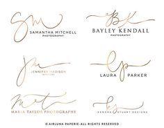 Handwritten initials, signature line. Logo, watermark, blog header ...