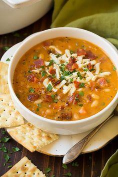 Bean & Bacon Soup | Cooking Classy