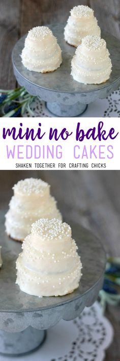 Mini No Bake Wedding