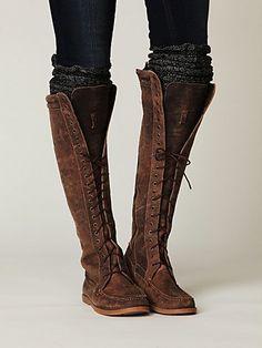 want the boots