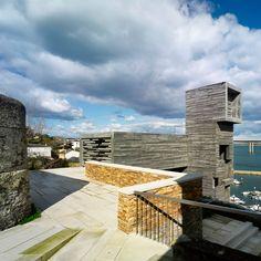 'ribadea accessible' by abalo alonso arquitectos, galicia, spain