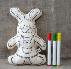 Coelho / Coelha para pintar