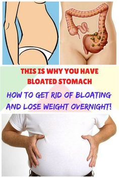 THIS IS WHY YOU HAVE BLOATED STOMACH AND HOW TO GET RID OF BLOATING AND LOSE WEIGHT OVERNIGHT!