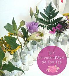 DIY Vase D'Avril Tsé Tsé