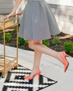 Striped A-Line Hannah Circle Skirt - $15.99. https://www.bellechic.com/deals/85d33bf4ae89/striped-a-line-hannah-circle-skirt