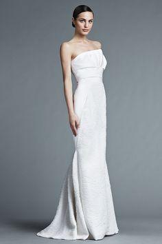J. Mendel wedding dresses spring 2015 | itakeyou.co.uk #weddingdress