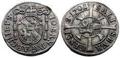 World Coins - Salzburg (Independent Archbishopric), Johann Ernst-Graf von Thun…