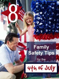The 4th is fun, but there are always times when we need to be safe. HErea are some 4th of July Family Safety Tips via  Tipsaholic.com #familysafety #july4th