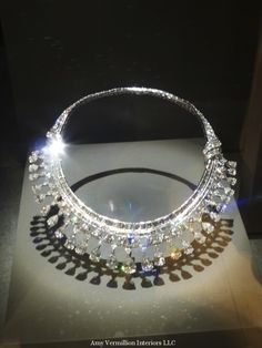 Cartier designed this Art Deco piece in 1931 for Clarence Mackay to give to his new bride as a wedding gift.