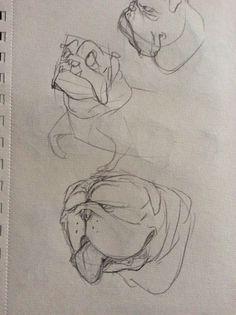 Concept art bull dog