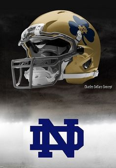 For women, the start of the NFL might mean the very same thing or it may mean something entirely different. Notre Dame Football, Collage Football, Bears Football, Football Signs, Irish Fans, Go Irish, College Football Helmets, Football Uniforms, Noter Dame