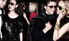 Own the Night – The go to girl for all things Michael Kors, model Karmen Pedaru, stars in the American designer's holiday 2012 campaign alongside Shu Pei, Simon Nessman and others. In front of Mario Testino's lens, the glamorous group hits the town at night in winter shades of red and green as well as metallics and sequin embellished pieces.