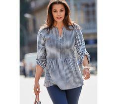 Kostkovaná halenka se zavázáním | modino.cz #ModinoCZ #modino_cz #modino_style #style #fashion #blouse #bellisima