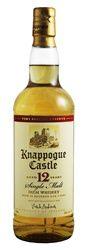 Knappogue Castle 12 Year Old Single Malt Irish Whiskey (750ml)
