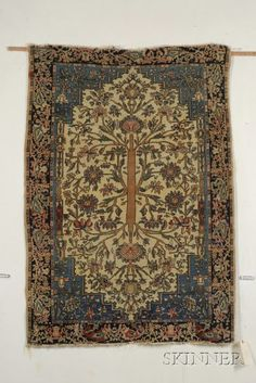 Sarouk Rug, West Persia, late 19th century,  4 ft. 10 in. x 3 ft. 5 in.