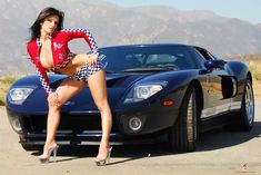 Denise Milani and Ford GT - Imgur