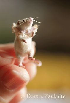 Mouse Betsy by Tireless Artist, via Flickr    Amazing doll maker. Remarkable stuff!