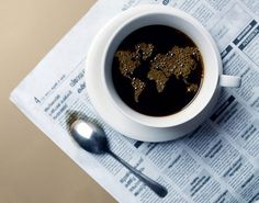 Words and coffee (and teaspoon, and world).