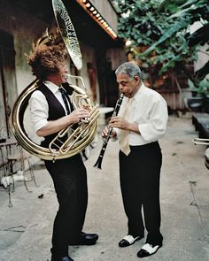 New Orleans' best hotels put you in view of jazzy street performers like these. // Slideshow: Best Hotels in New Orleans