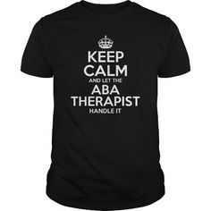 Make this awesome proud Therapist:  Aba Therapist as a great gift Shirts T-Shirts for Therapistes