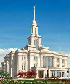 Payson Utah Temple. #LDS  Stuff Mormons Like: www.MormonFavorites.com