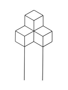 et grafisk espalier gir plantene noe moderne å klatre på, POV Planter, 299 kr, Menu. Note Design Studio, Notes Design, Indoor Plants, Planters, Gardens, Home Decor, Flowers, Products, Modern