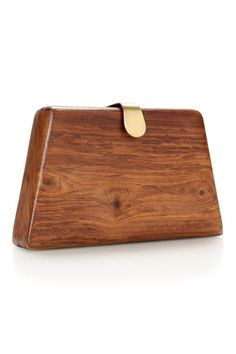 1937adbfab4 Trapeze Wooden Clutch - Accessories - French Connection Fashion Bags