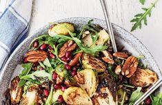 Vegetarian Recipes, Cooking Recipes, Healthy Recipes, Wild Rice Salad, Winter Salad, Healthy Food Choices, Salad Ingredients, Salad Recipes, Healthy Eating