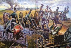 Russian artillery, Napoleonic wars