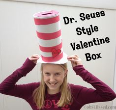 obSEUSSed: Dr. Seuss Style Valentine Box
