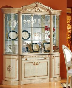 Dinner Plates On Plate Stands Step 3   MattandShari.com | Good Ideas |  Pinterest | Plate Stands, China Cabinets And China