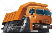Vector Cartoon Dump Truck, Available AI-10 and EPS vector formats separated by groups and layers for easy edit. More cartoon cars or transportation illustrations see in my portfolio. Also you can check at my Collections: Vector Cartoon Cars Vector Cartoon Trucks Detailed Vector Cars modern and retro Detailed Vector Trucks Vans Tractors and Pickups Detailed Vector re