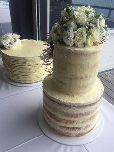 @ Two Cute Chefs wedding cake