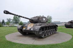 M-26  Pershing  heavy  tank  US  Army  WW II