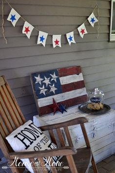 DIY 4th of July Pillows and a $200 Gift Card Giveaway