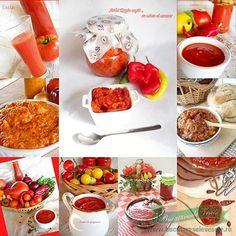 Zacusca si Conserve de Legume Chocolate Fondue, Preserves, Canning, Ketchup, Desserts, Recipes, Food, Tailgate Desserts, Preserve