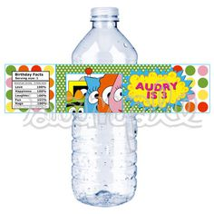water labels