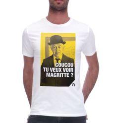 Des Fists et des Lettres, les t-shirts Magritte, Monsieur Tshirt, Tee Shirt Homme, Tee Shirts, Tees, Gandhi, Tank Man, Mens Tops, Clothes