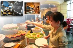 """International Buffet Dinner at Baiyoke Sky Hotel on 75th, 76th or 78th floor"" on 18.30 including ""Observation Deck"" on 77th floor and ""Sky Walk Revolving Roof Deck"" on 84th floor."