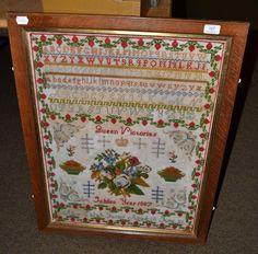 Tennants Auctioneers: A Golden Jubilee commemorative sampler
