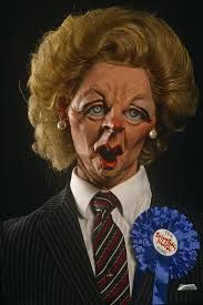 Image result for spitting image politicians
