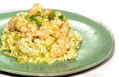 Risoto de camarão, alho-poró e laranja   Panelinha - Receitas que funcionam